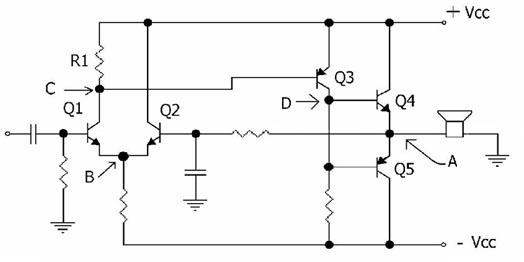 b,c.e及 c.c三种放大电路中输出阻抗   未选 (a)  c.b>c.e>c.